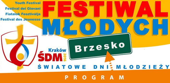 ŚDM - Festiwal Młodych w Brzesku - już w środę!