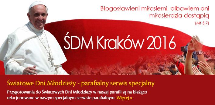 ŚDM - Światowe Dni Młodzieży w naszej parafii - strona informacyjna