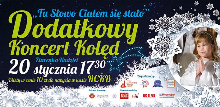 20 stycznia w RCKB dodatkowy koncert - będzie lepiej niż na zdjęciach ;-)