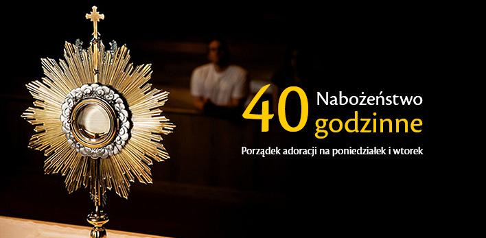 Nabożeństwo 40 godzinne w parafii Miłosierdzia Bożego Brzesko!