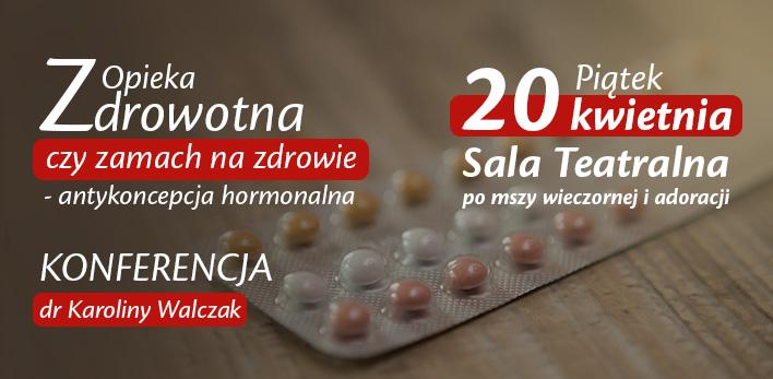 Konferencja dla małżonków na temat antykoncepcji hormonalnej