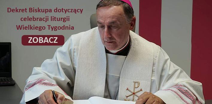 Dekret Biskupa na Wielki Tydzień