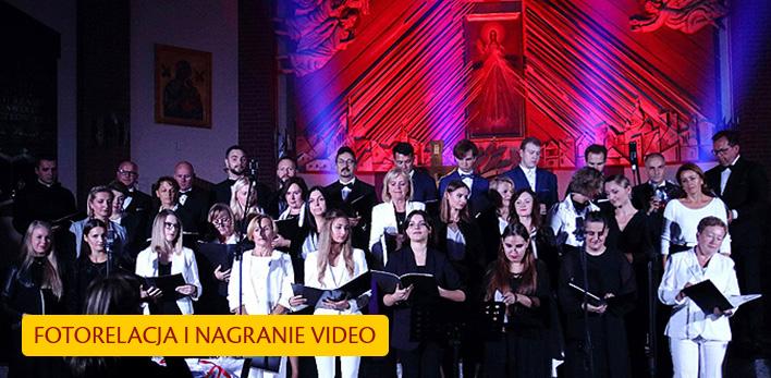 Koncert - Chór GAUDIUM - Fotorelacja i nagranie video