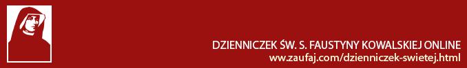 Dzienniczek św. s. Faustyny Kowalskiej online