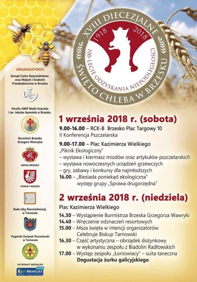 Plakat - Diecezjalne Święto Chleba
