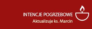 INTENCJE POGRZEBOWE - aktualizuje ks. Marcin