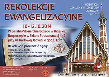 Rekolekcje Ewangelizacyjne.
