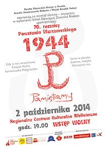Koncert upamiętniający 70 r. Powstania Warszawskiego