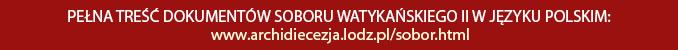 Pełna treść dokumentów Soboru Watykańskiego II w języku polskim