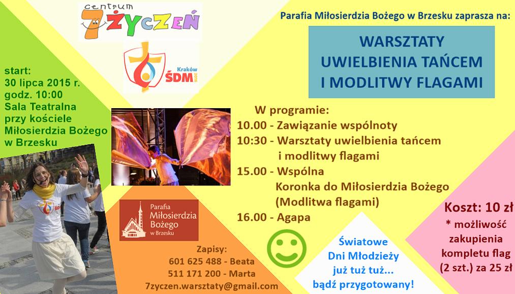 Warsztaty Uwielbienia - Światowe Dni Młodzieży
